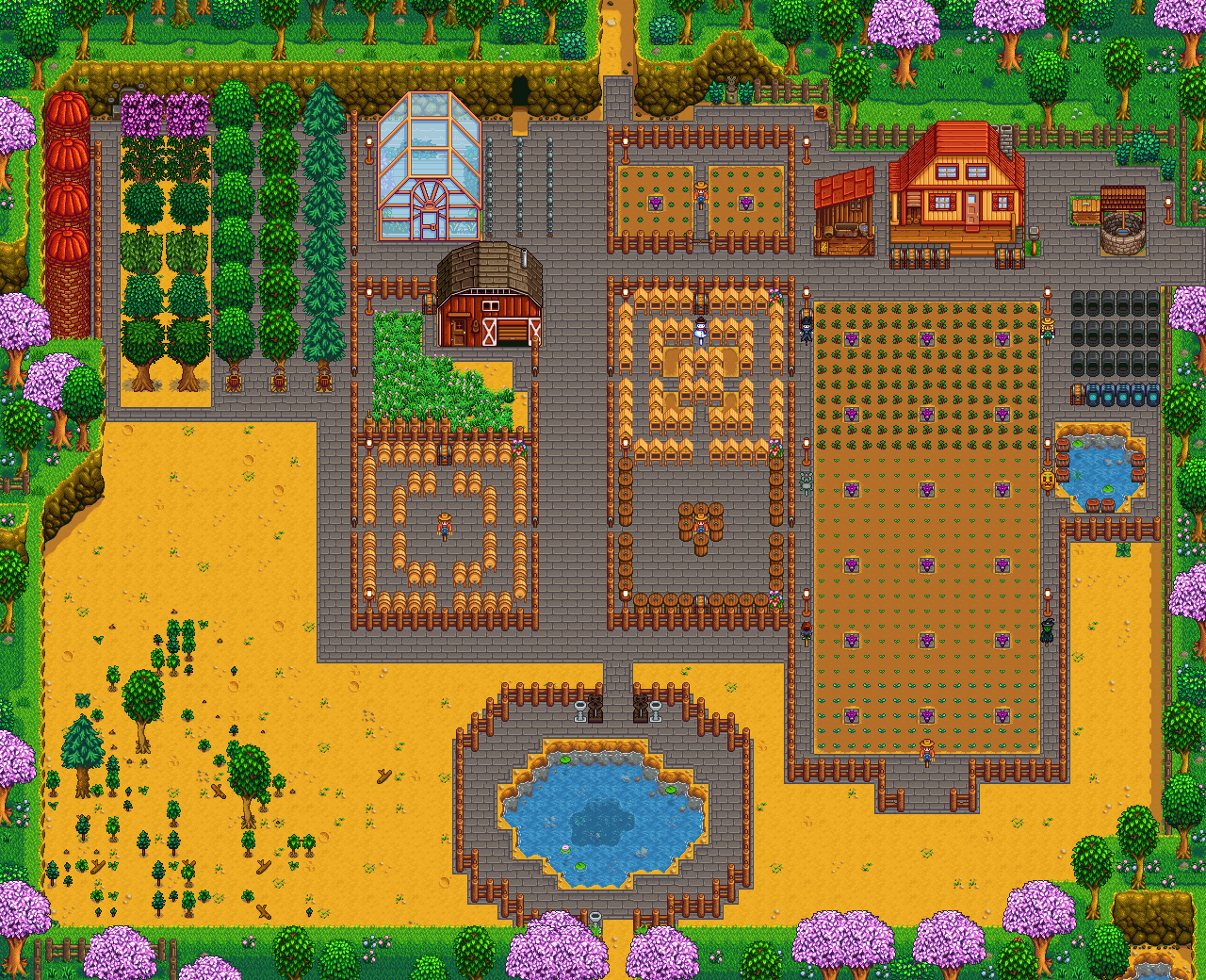 Honey Mead Farm Upload Farm Stardew Valley Summary Generator