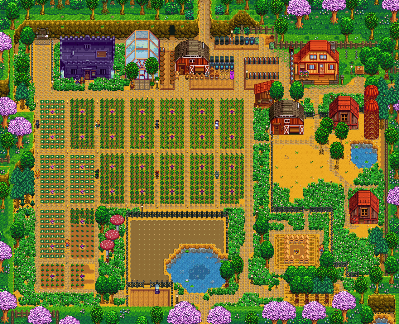 stardew valley how to clear farm