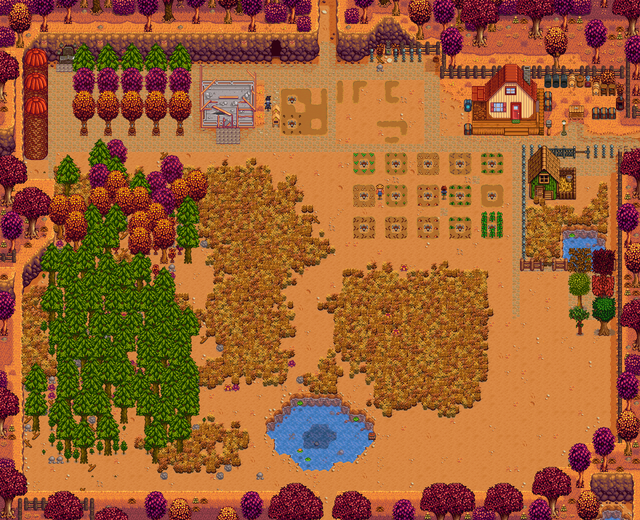 how to change your farm name on stardew valley