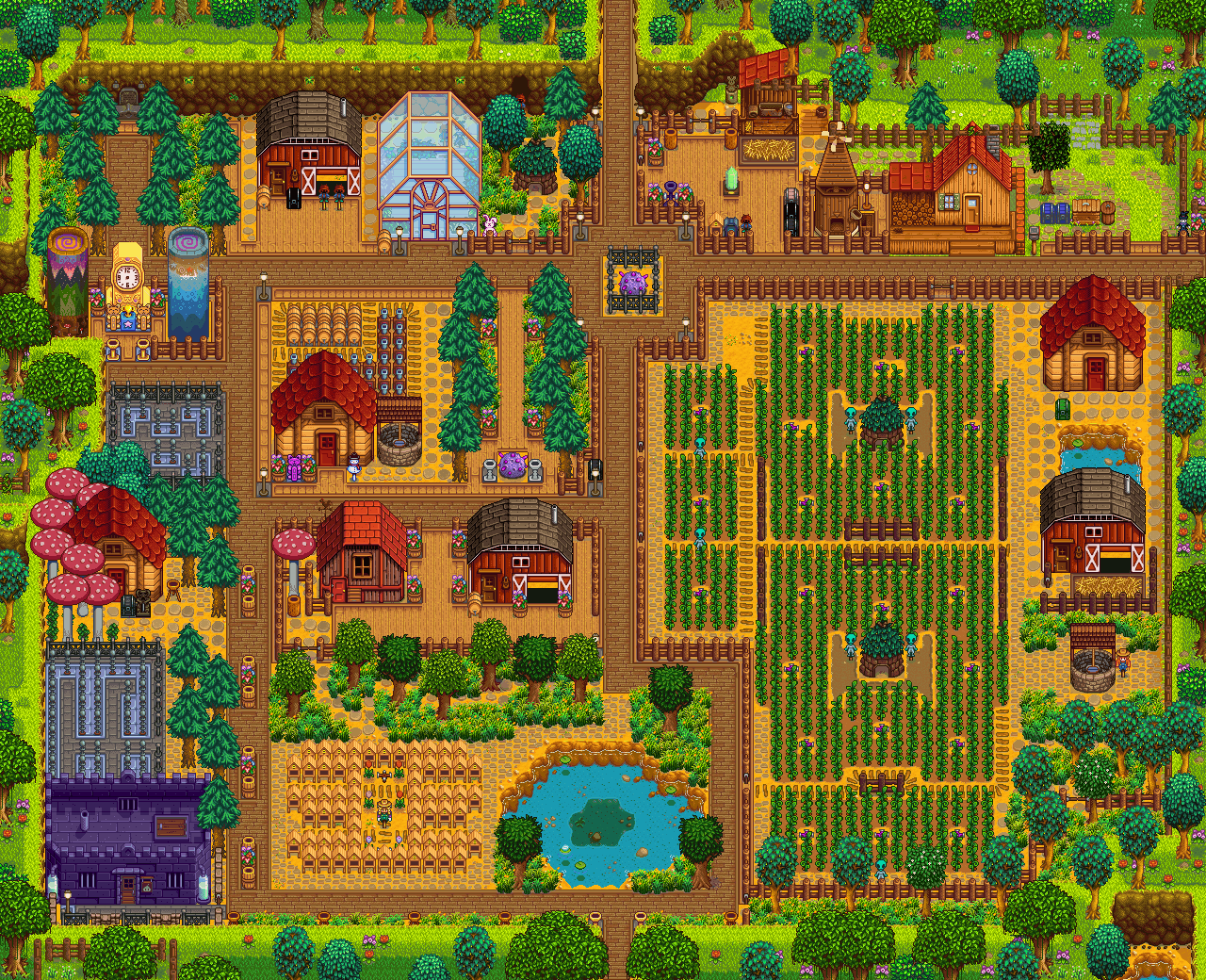After 3 Years Stardew Valley Farm Gaming Video Game And Videogames