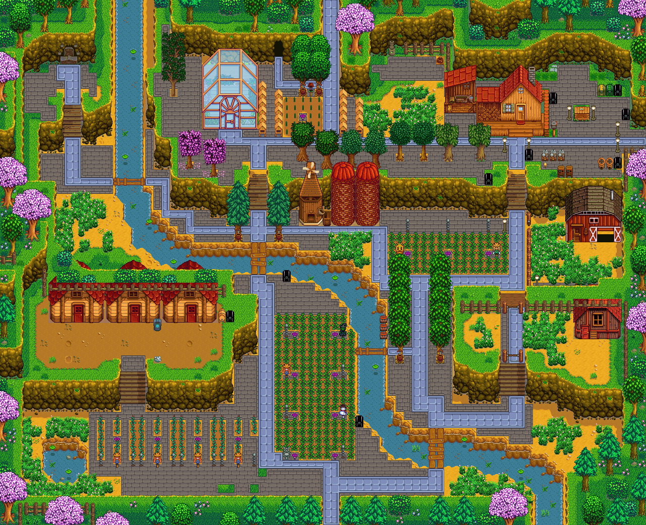 stardew valley farm layouts