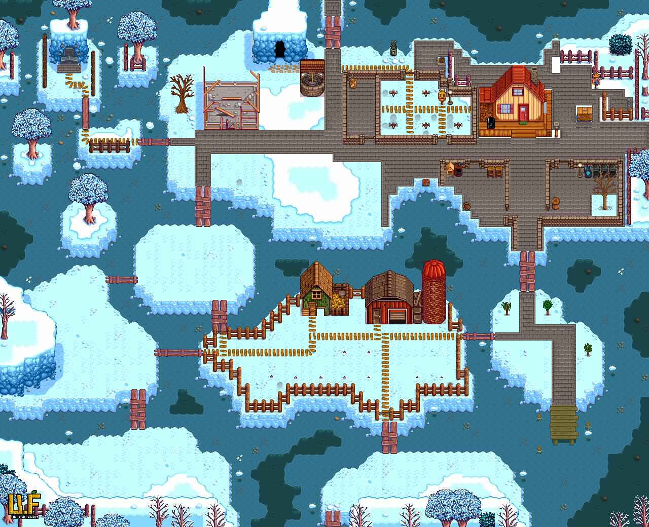 My farm at the end of winter year 1 stardewvalley my farm at the end of winter year 1 gumiabroncs Choice Image